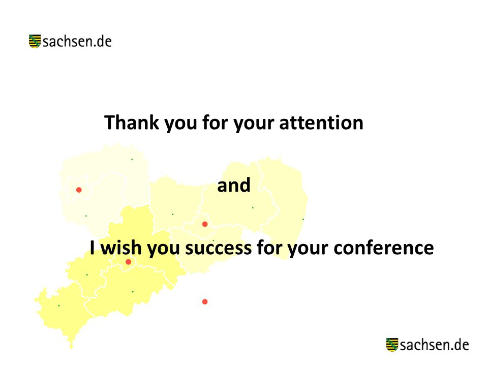 Thank you for your attention and I wish you success for your conference