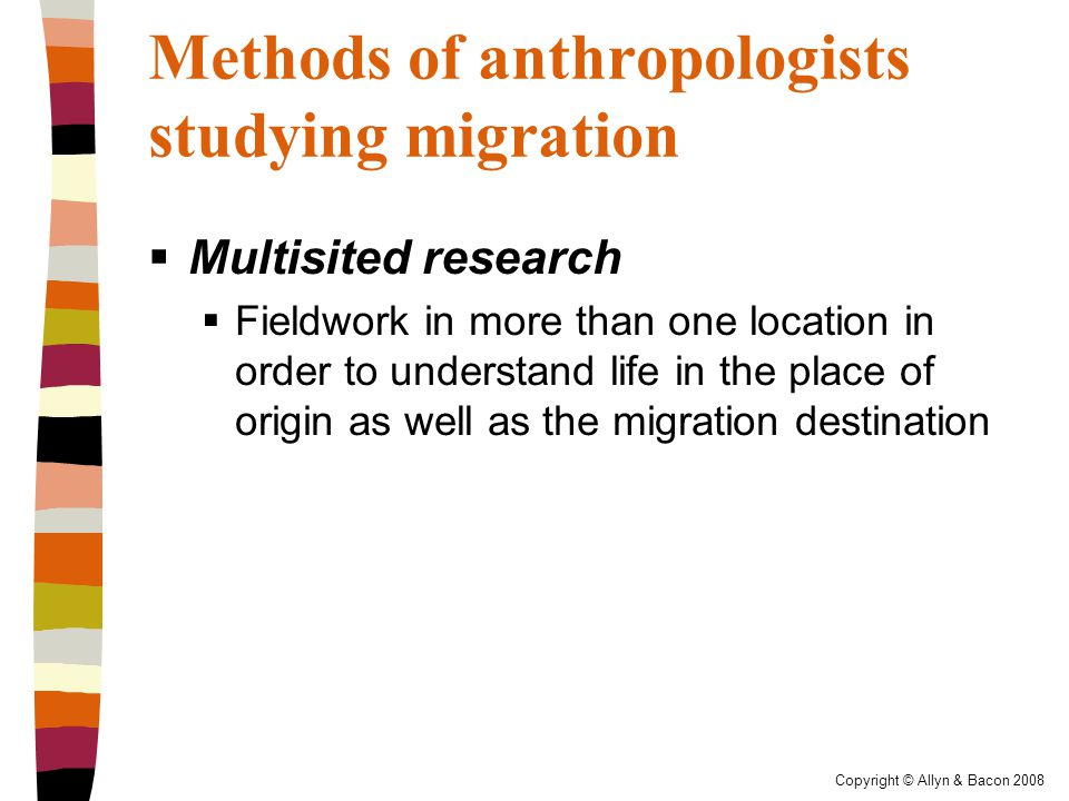 Copyright © Allyn & Bacon 2008 The BIG Questions Revisited  What is migration.