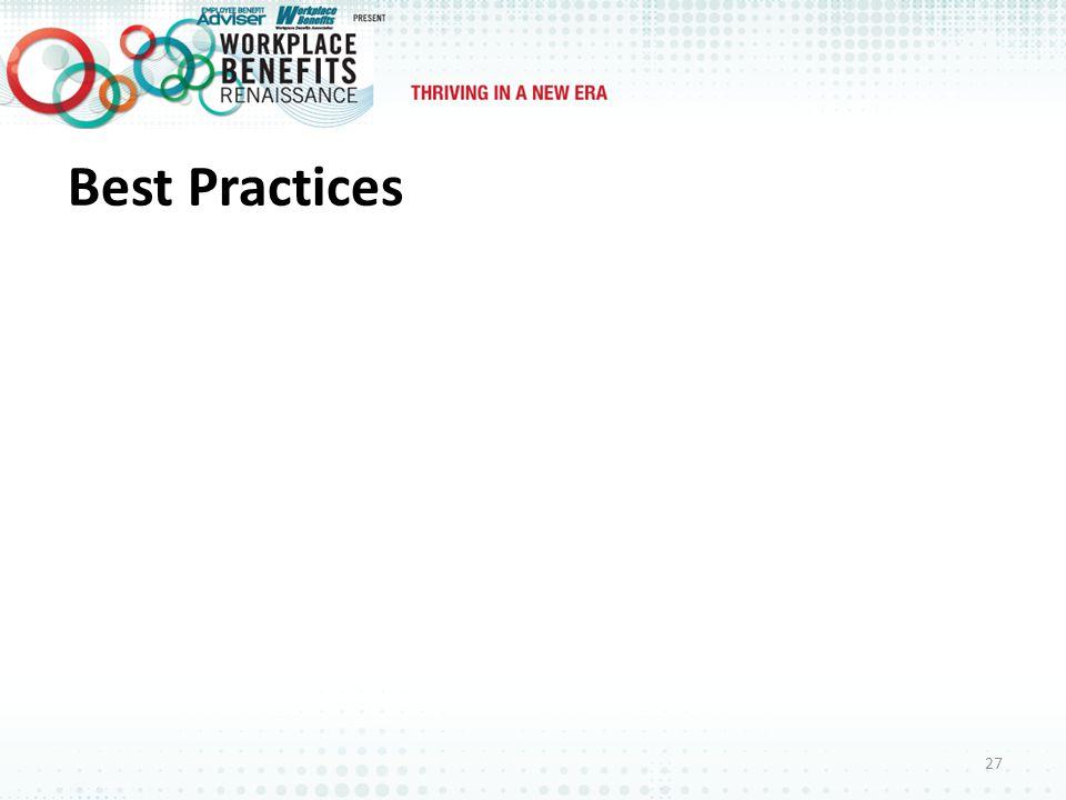 Best Practices 27