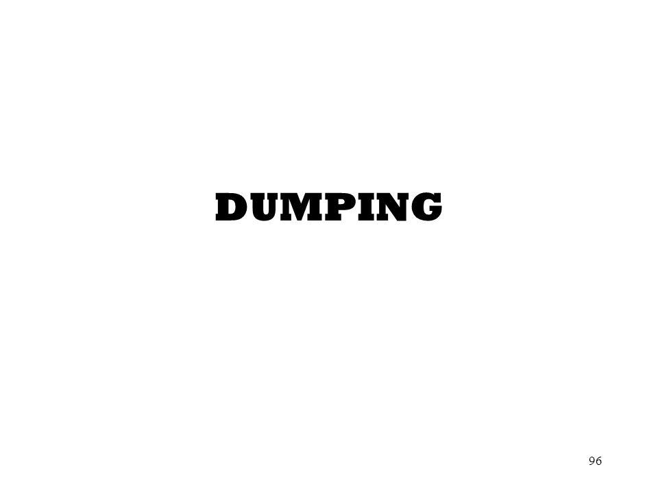 96 DUMPING