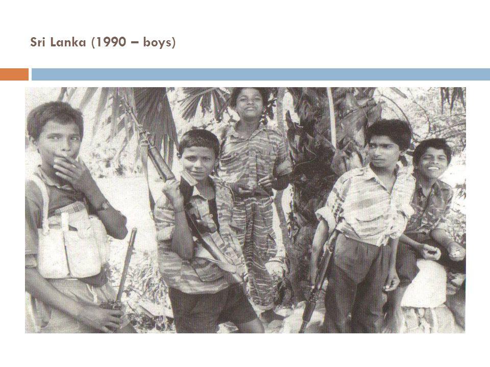 Sri Lanka (1990 – boys)