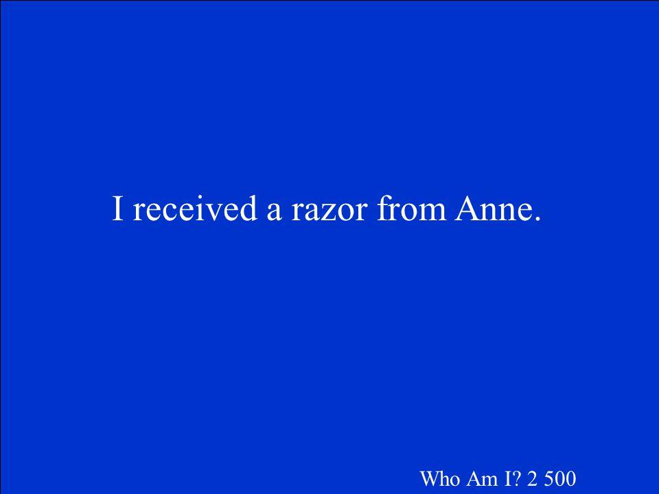 Margot Who Am I 2 400