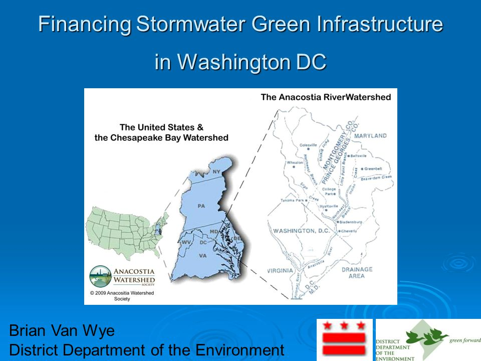 2 Presentation Outline  Background and Cost of Stormwater in the District.