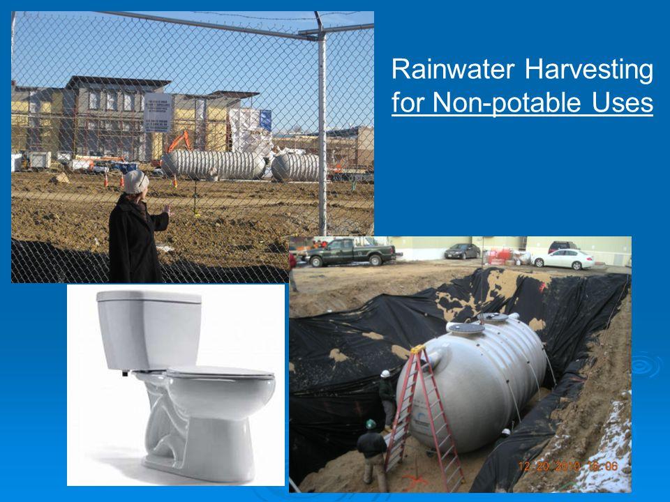 18 Rainwater Harvesting for Non-potable Uses