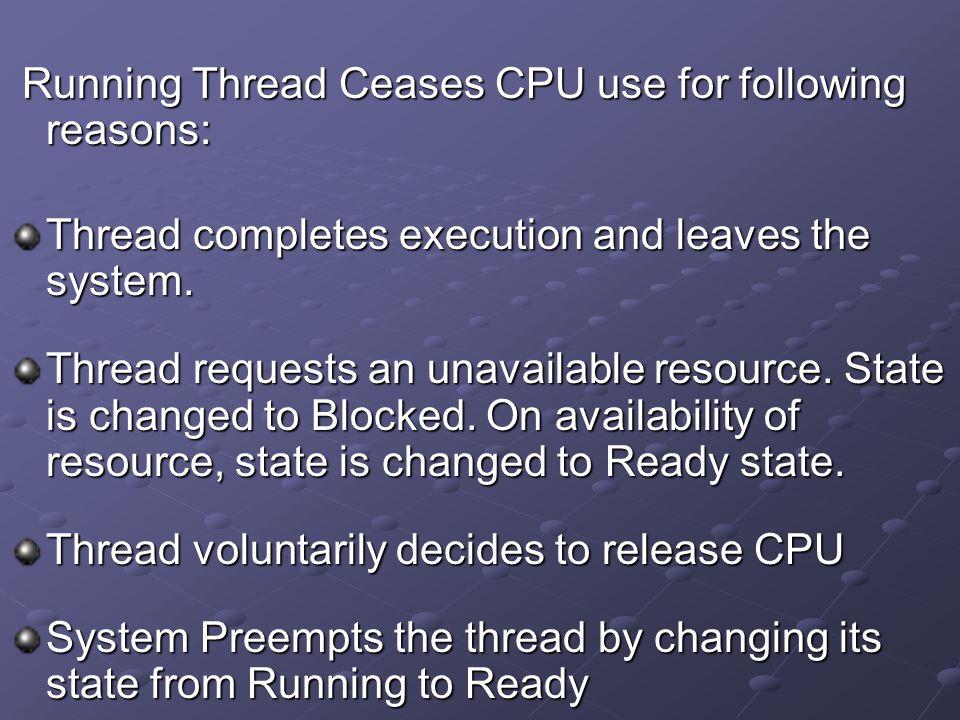 Pre-emptive Based on prioritize computation.