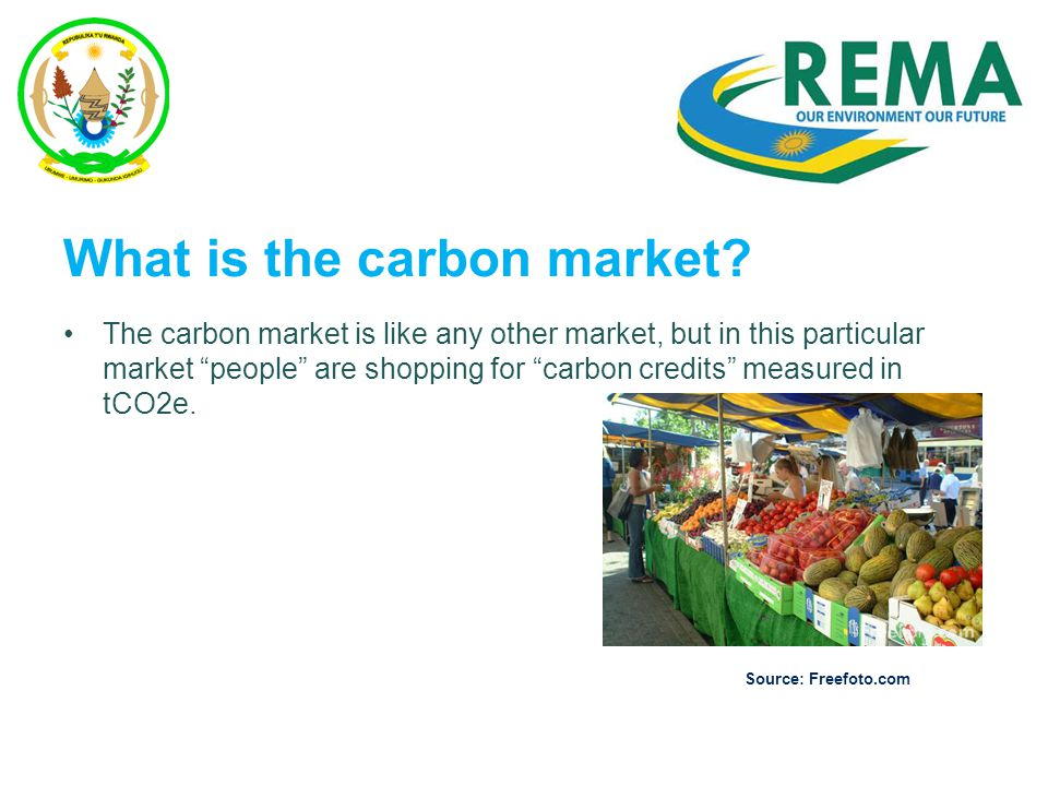 What is the carbon market.