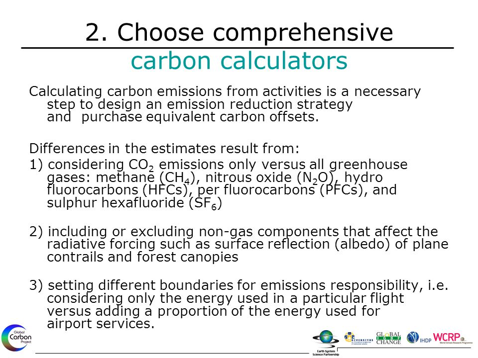 Calculating carbon emissions from activities is a necessary step to design an emission reduction strategy and purchase equivalent carbon offsets. Diff