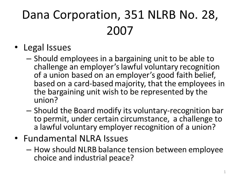 Dana Corporation, 351 NLRB No.