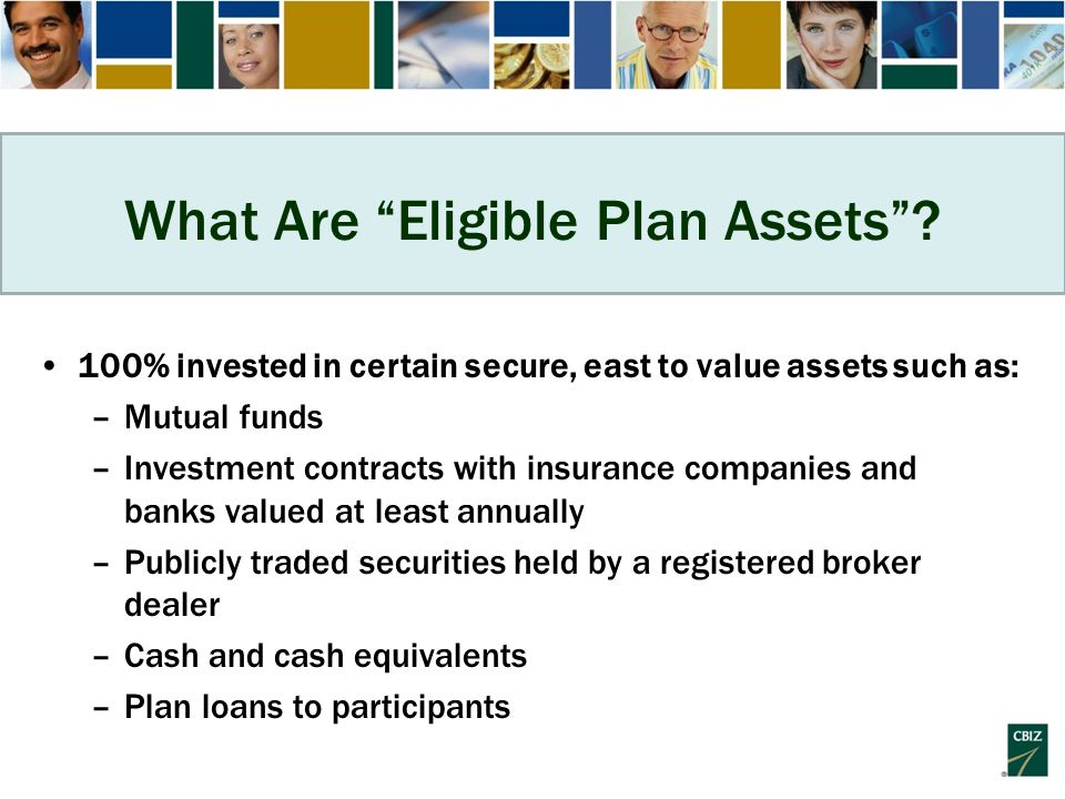 What Are Eligible Plan Assets .