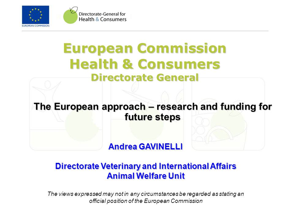 Work Programme 6.Developing, hosting and maintaining a dedicated website providing education and training to the main interested parties of the pig sector on the actions of the European Union on alternatives to surgical castration of pigs EUR 30.000 use of existing framework contract launching the procedure : January/February 2012