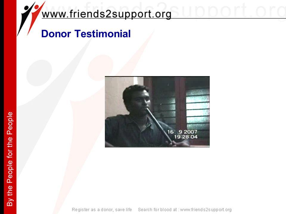 Donor Testimonial