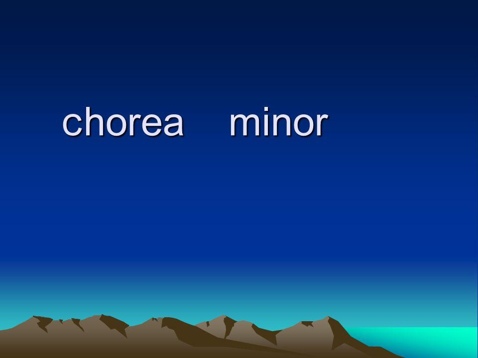 C horea minor C horea minor