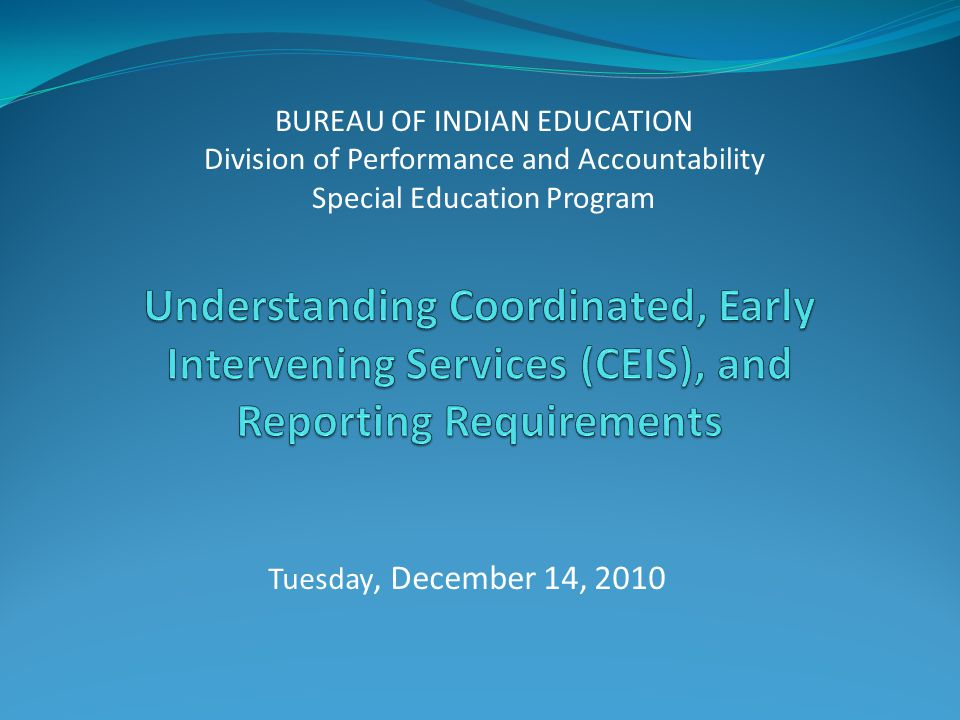 NASIS Special Education Process Guide BIE Website – www.bie.edu/www.bie.edu/ Links: Programs Special Education Training Other Documents NASIS Special Education Process Guide, pages 4-7