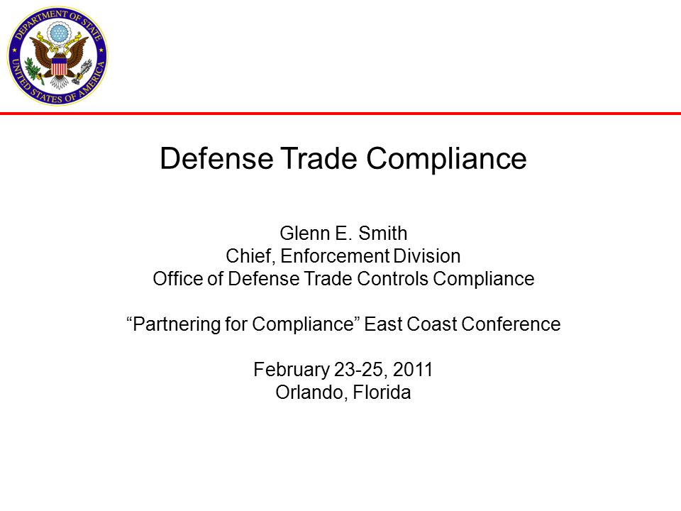 Presentation Topics Organization of Compliance at State Civil Enforcement Trends Consent Agreements Voluntary Disclosures Compliance Tips How Industry can Assist 2