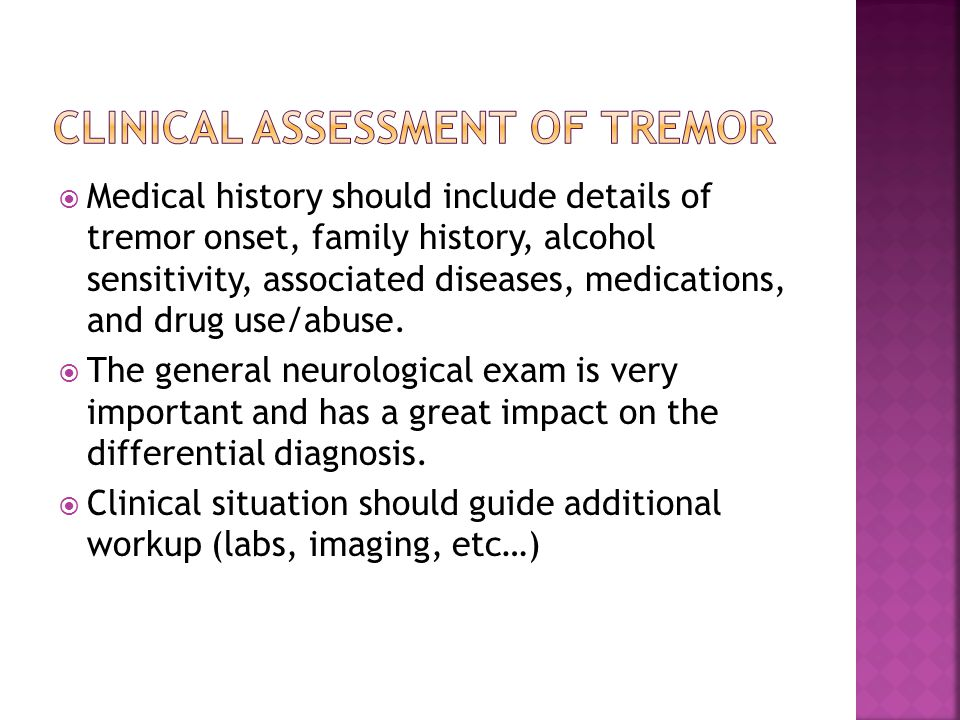  Physiological tremor is present in every normal subject with posture and action.
