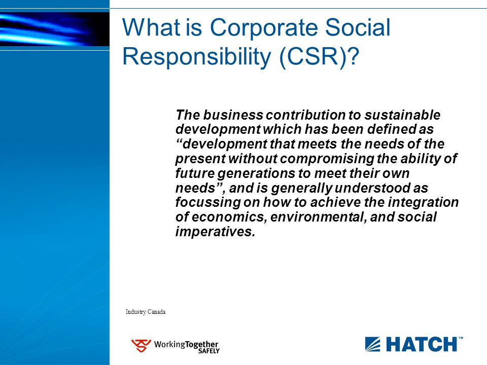 CSR Drivers in Developing Countries Internal: Cultural tradition Socioeconomic priorities Governance gaps Market access etc.