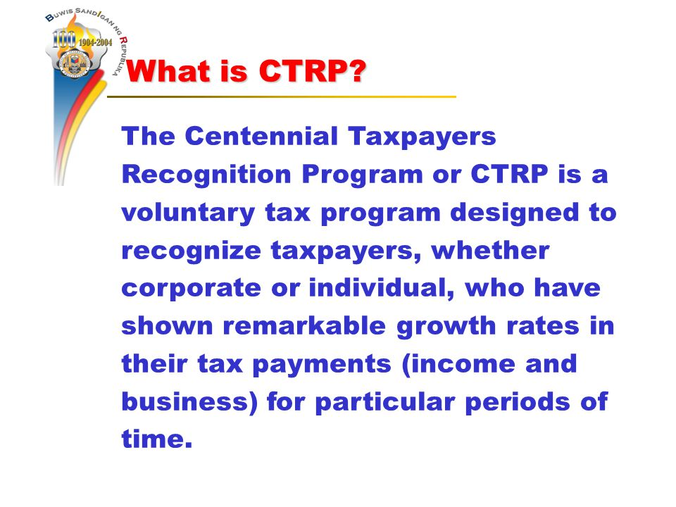 What is CTRP. What is CTRP.