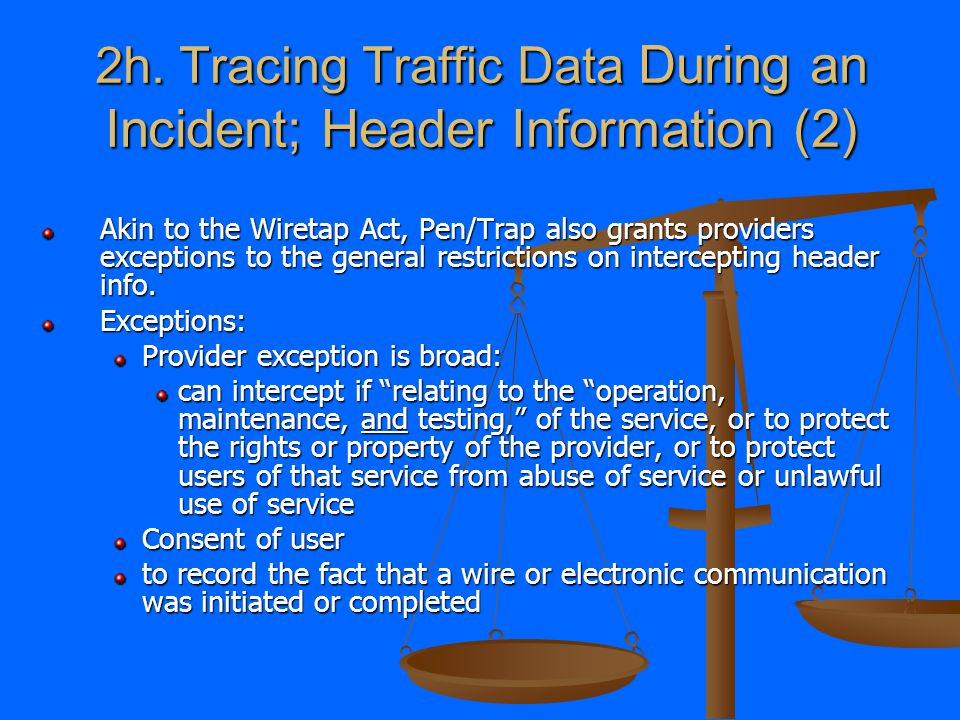 2g. Tracing Traffic Data During an Incident; The Tools Part II.