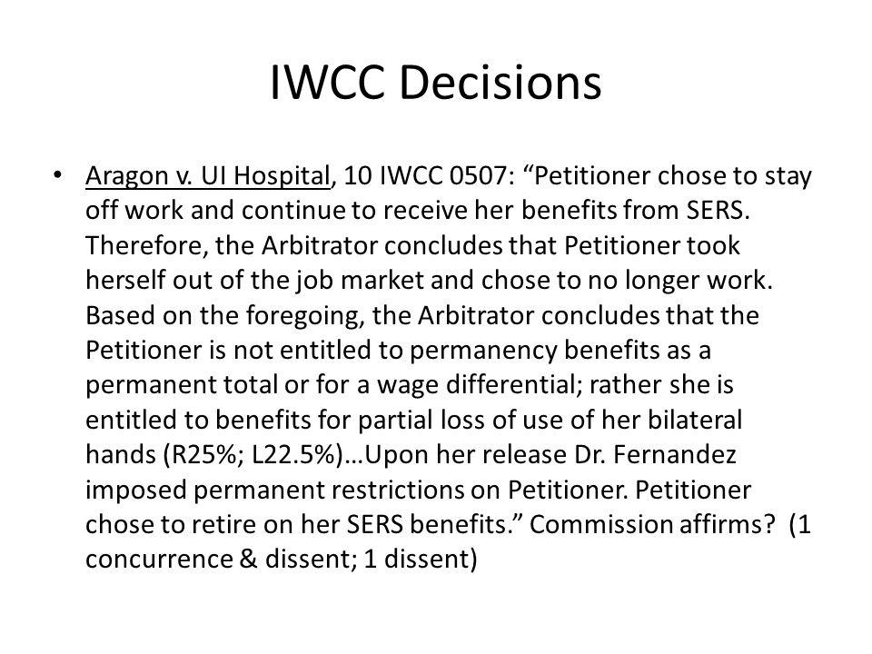 IWCC Decisions Aragon v.