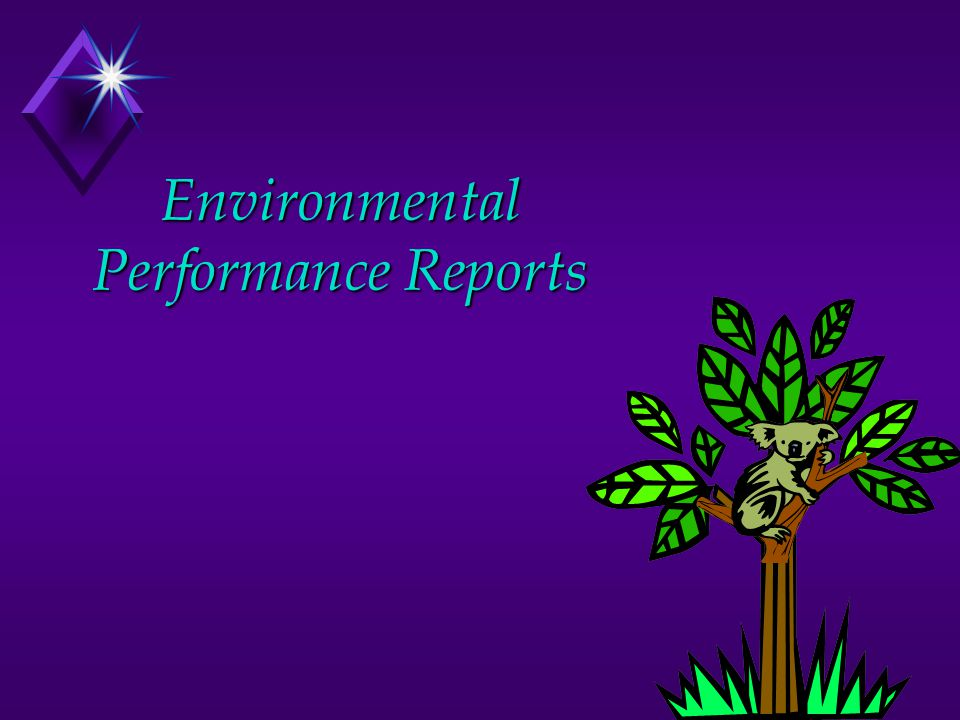 Environmental Performance Reports
