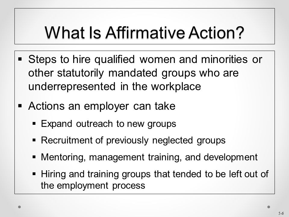 5-27 Opposing Views of Affirmative Action  Con – Clarence Pendleton, Chair of the U.S.