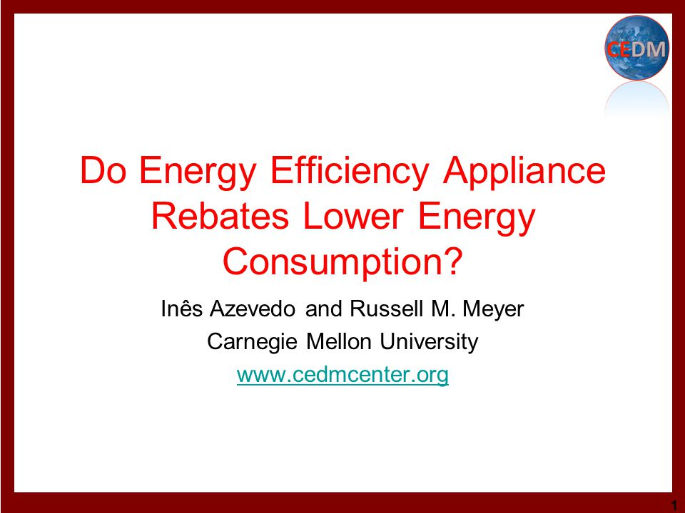 Energy efficiency is one the strategies we need to pursue to reduce GHG emissions.