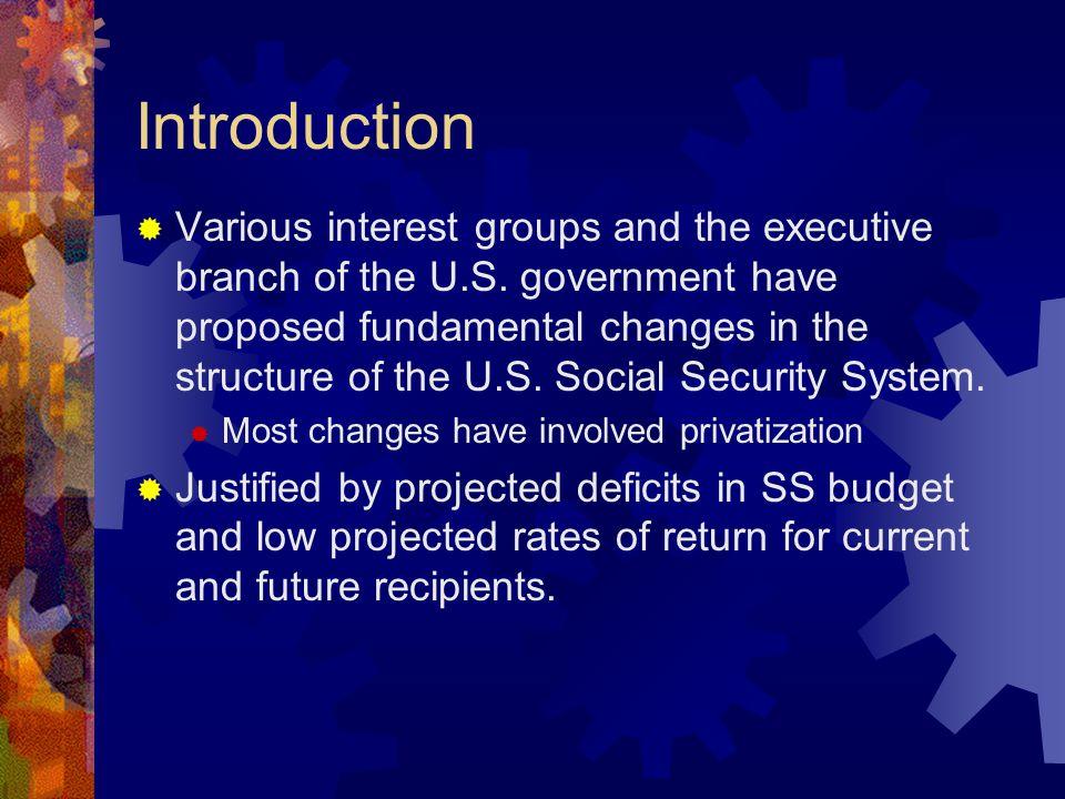 Political Economy of Reform Proposals  No funding crisis.