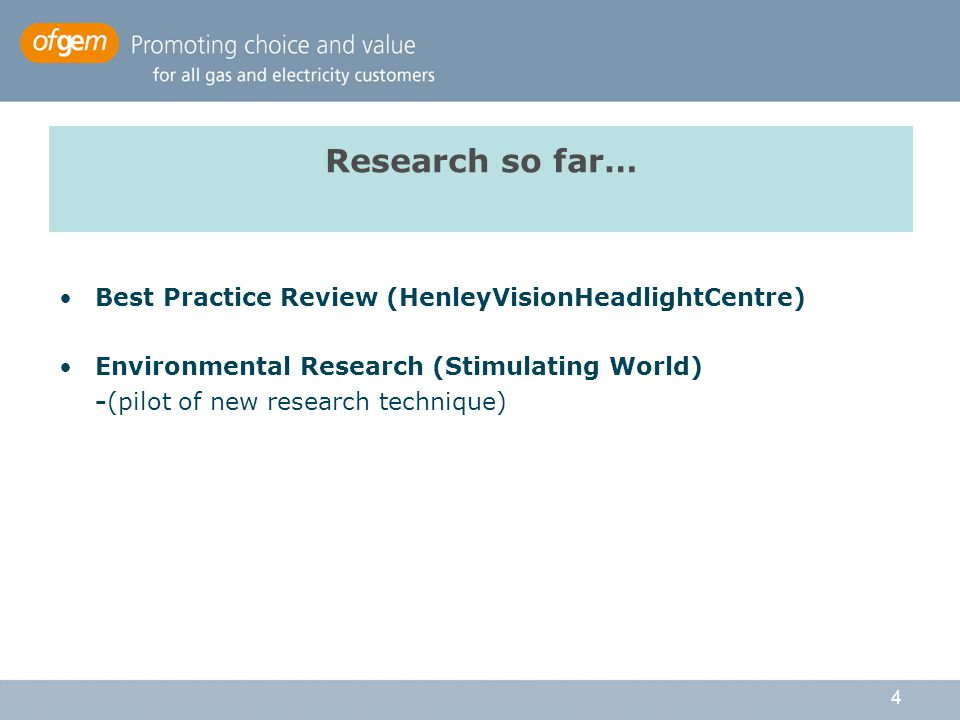 5 Summarising the Henley Recommendations Strategic assessment of need for insight Improved approach to consultation Understanding the basic demographics Getting a deeper understanding ('the soft stuff') Anticipating future trends Developing an initial programme Building insight into the way we work, from the top down