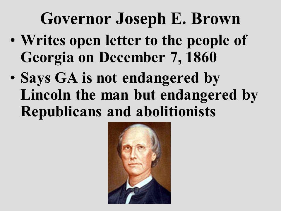 Governor Joseph E.