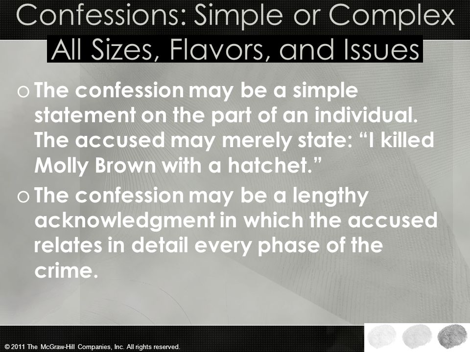 © 2011 The McGraw-Hill Companies, Inc. All rights reserved. The Massachusetts Procedure o Under the Massachusetts procedure, if the judge decides that