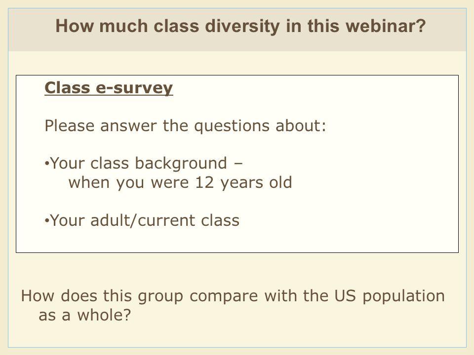 4 CLASS IDENTITY GROUPS: 1.