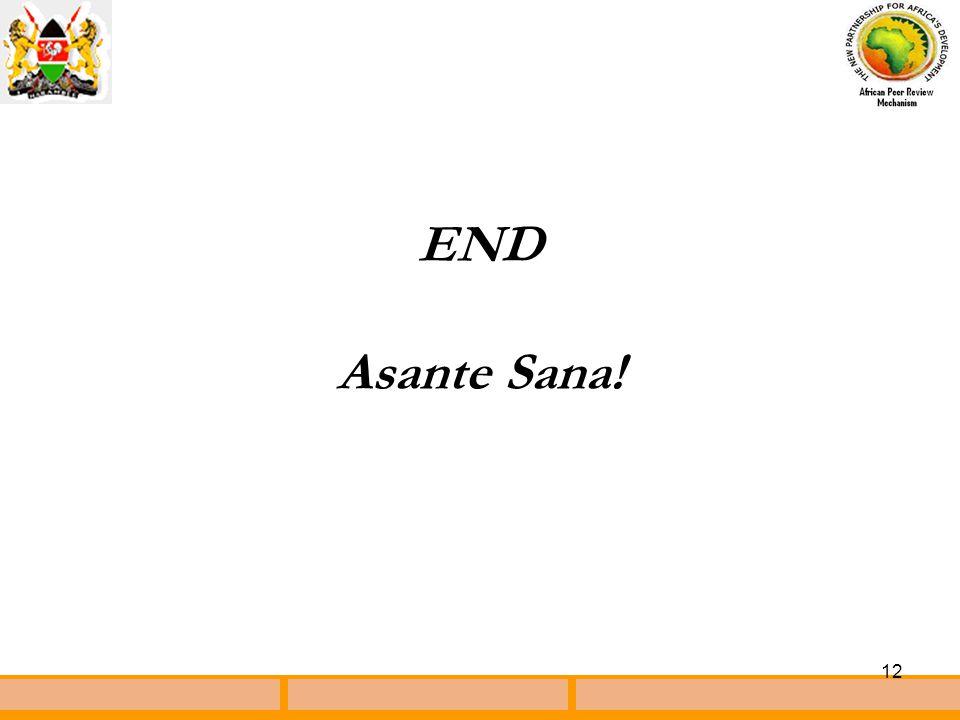 12 END Asante Sana!