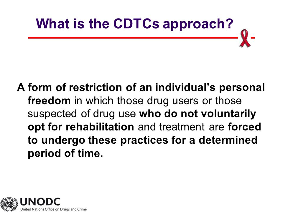 What is the CDTCs approach.