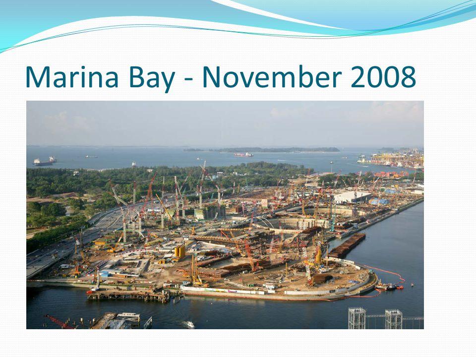Marina Bay - November 2008