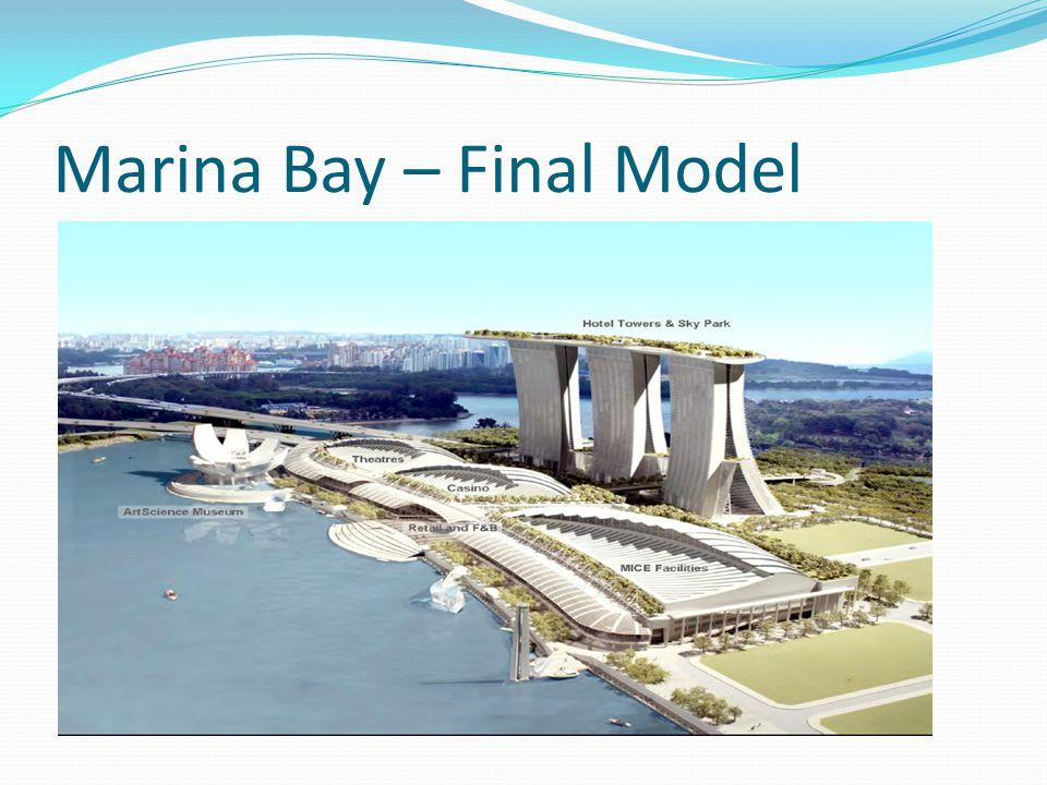 Marina Bay – Final Model