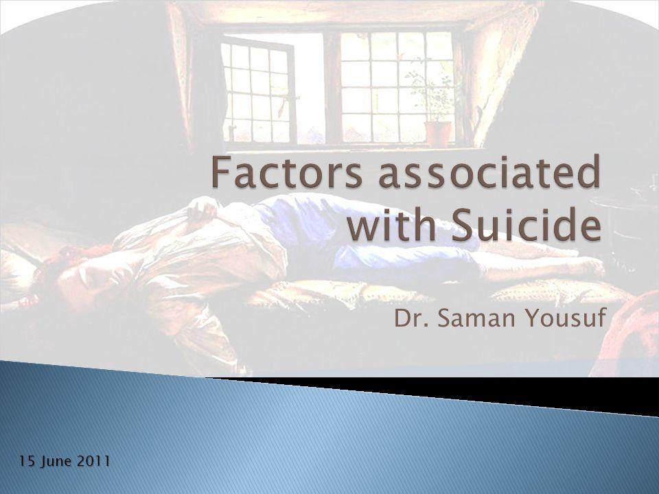 Dr. Saman Yousuf 15 June 2011