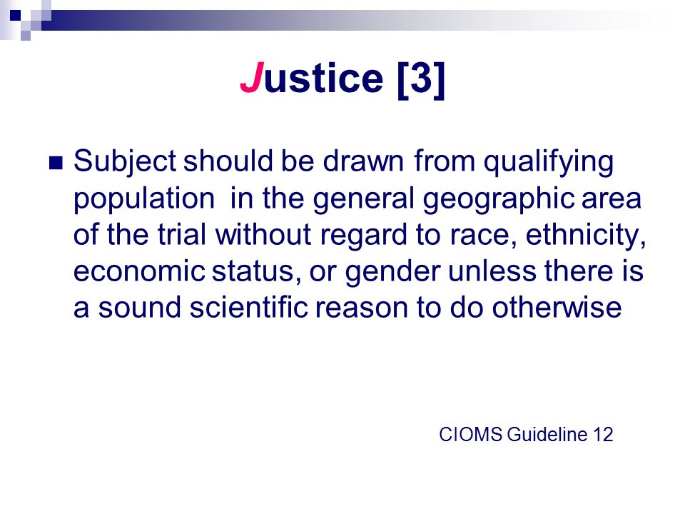 Justice [3] Subject should be drawn from qualifying population in the general geographic area of the trial without regard to race, ethnicity, economic
