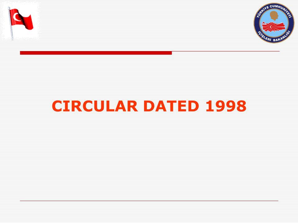 CIRCULAR DATED 1998