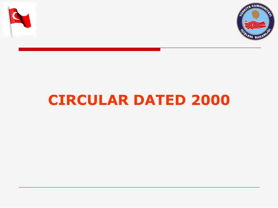 CIRCULAR DATED 2000