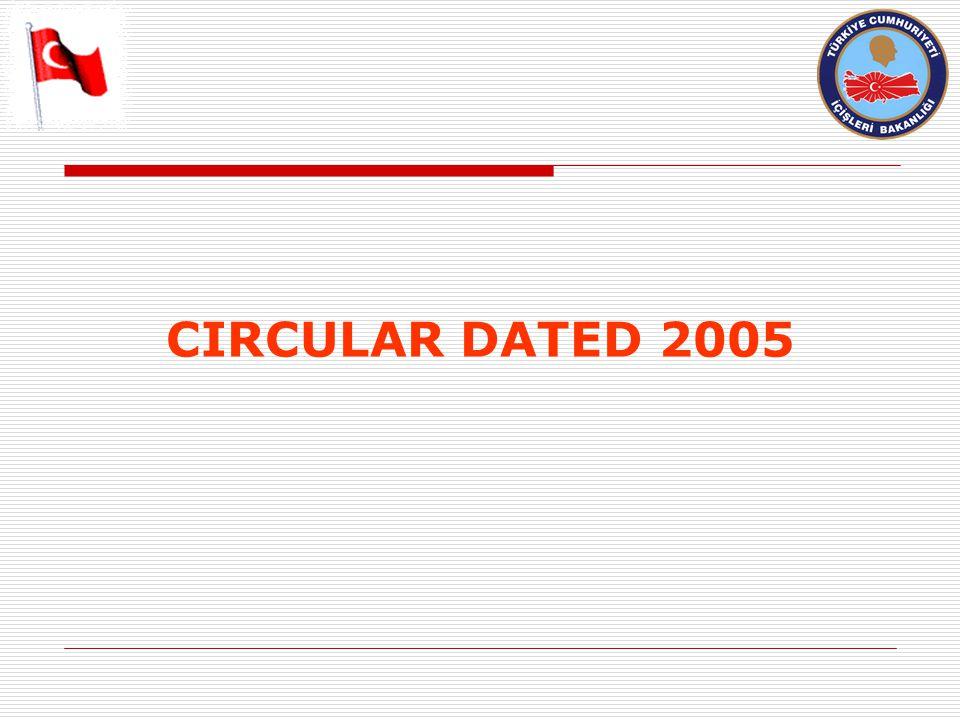 CIRCULAR DATED 2005