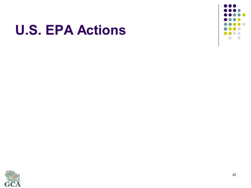 U.S. EPA Actions 48