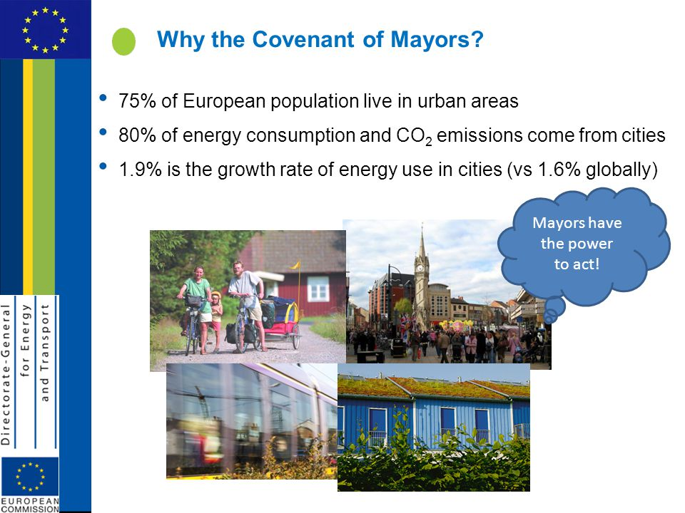 Why the Covenant of Mayors.