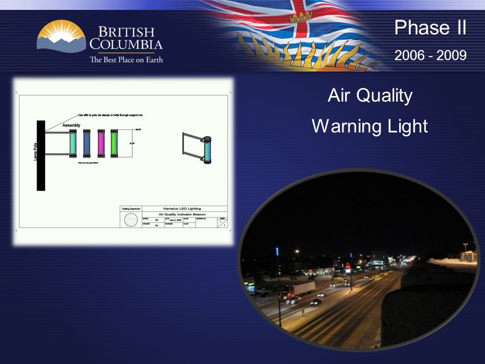Air Quality Warning Light Phase II 2006 - 2009
