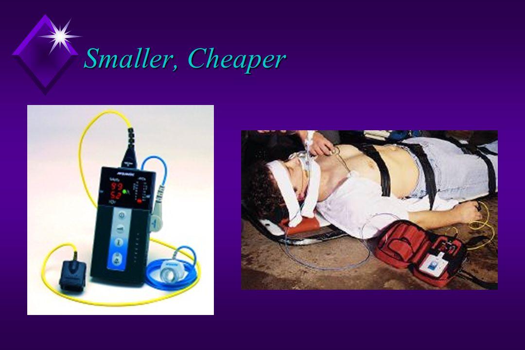Smaller, Cheaper