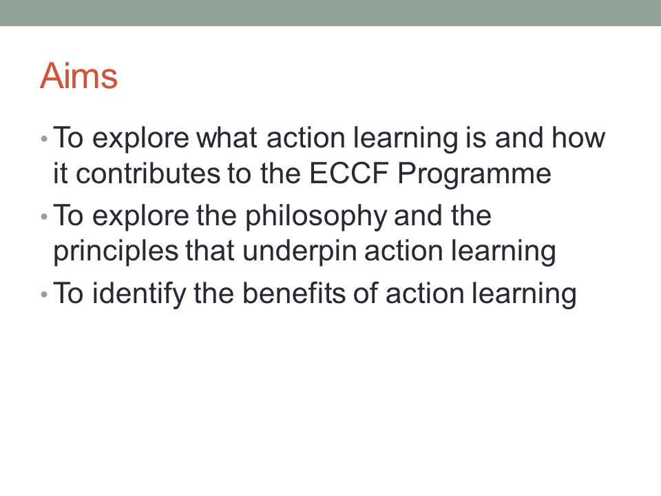 Action Learning Set Process Presentation of challenge what is the issue/ question/ what are the contributing factors.