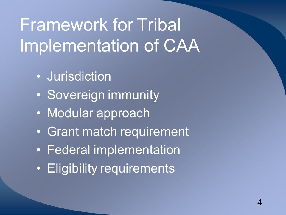 5 Tribal Jurisdiction Within exterior boundaries of reservation Other areas where tribes can demonstrate jurisdiction