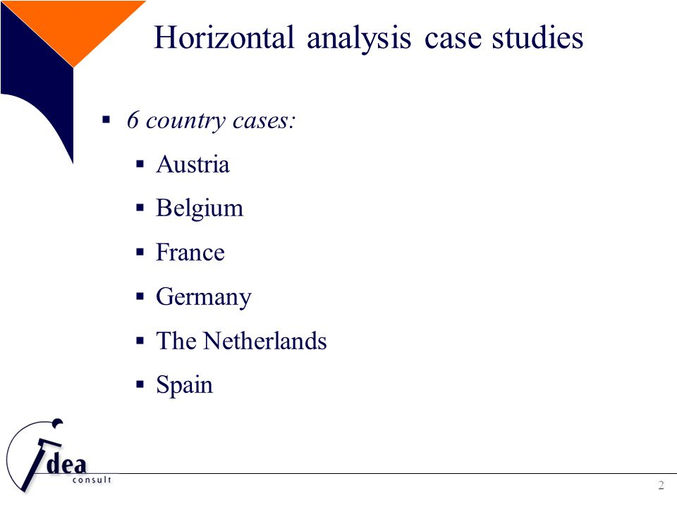 3 Horizontal analysis case studies  Topics:  Factors influencing training provision for TAW  Organisation of training for TAW  On company level  On national or sectoral level  Financing training programmes for TAW  Mix of financial sources  Voluntary versus compulsory contribution of agencies  Different ways to organise a compulsory contribution system  Critical success factors and challenges for the temporary agency work sector