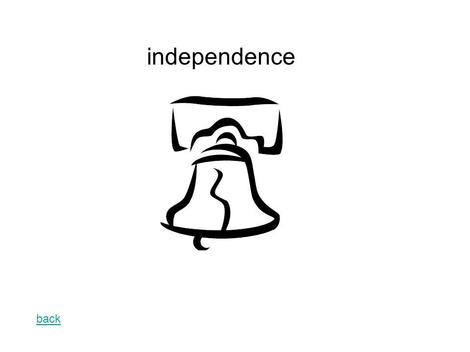 back independence