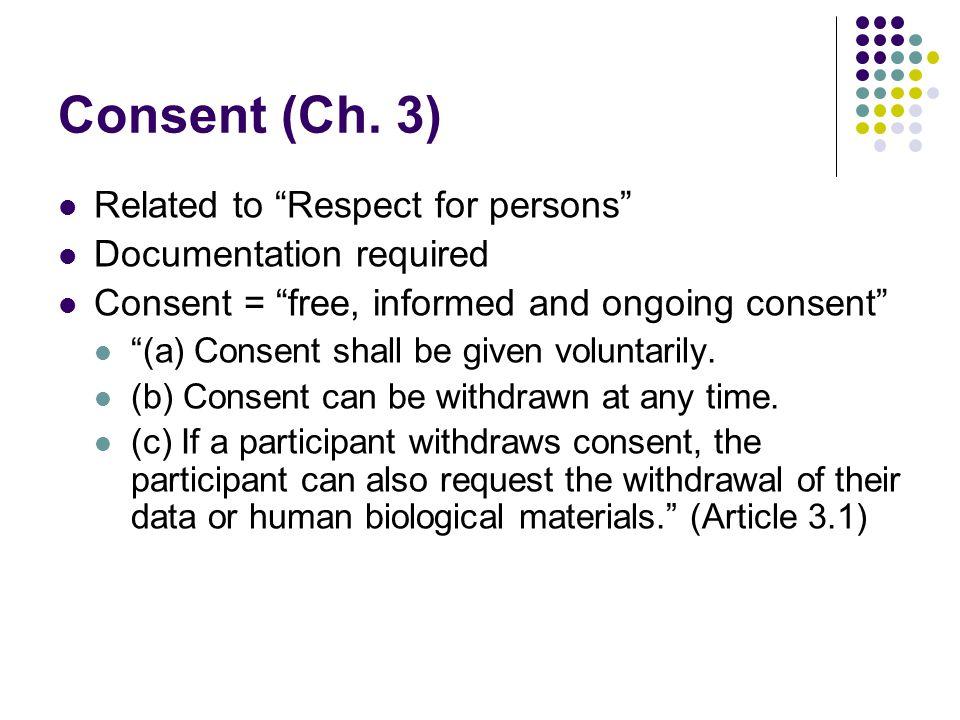 Consent (Ch.