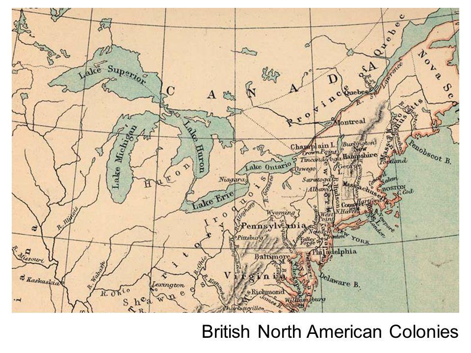 British North American Colonies